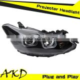 AKD Car Styling Toyota Vois LED Headlight 2014-2015 Vois Headlights New Vois Head Lamp Projector Bi Xenon Hid H7