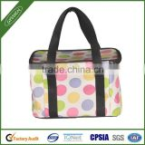 Continued hot dotted/custom 210D/420D/600D&foam&silver paper insulated basket cooler bag,basket cooler bag