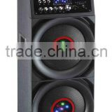 Hot Sale! Active speakers with Remote control,LED display,Support USB/SD card,FM radio,Guitar ,Karaoke,Bluetooth,PL-210IBT