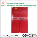 Fire safety cabinets for paint and ink cans storage