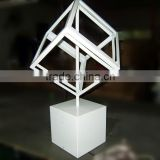 New design table top electric rotating display stand