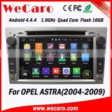 WECARO High Performance Navigation Pure Android 4.4.4 Car Gps Dvd Player for Opel Astra h 2004 - 2009                                                                         Quality Choice