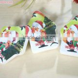 Christmas promotion gift compressed cotton towel