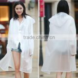 Women Girls Hooded Raincoat Poncho Cheap Rain Jacket Wholesale