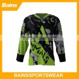 New Design sublimation printing hockey jersey/cool hockey jersey designs/online hockey jersey designer