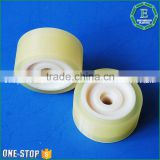 PU wheel PU roller rubber part injection plastic mold products for OEM                                                                         Quality Choice