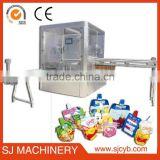 baby food spout pouch filling packing machine/automatic mineral drinking pure pouch machine