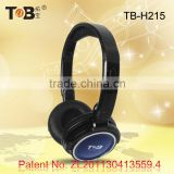 2015 High-performance popular stereo high quality mobile phone flexible custom branded headphones with mic
