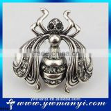 Newest design wholesale indian online shopping india jewelry stick pin brooch antique brooch B0041