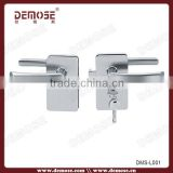 New Frameless Shower Enclosure sliding glass door lock