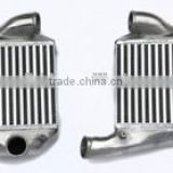 New aluminum intercooler for AUDI RS4 TURBO S4 A6 2.7 UPGRADE INTERCOOLER 90MM Thick 5056A