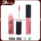 Long lasting waterproof collagen fashion color multi colored lip gloss