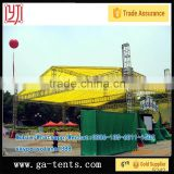 outdoor stage/truss for hanging/design for pipe truss