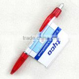 HSX-011 Juicy color cute classic banner ball pen