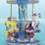 2013 newest designed mini carousel rides for commercial use