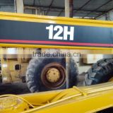 Used caterpillar 12H motor grader Japan Original