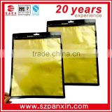 gold foil bag packing bags for clothes