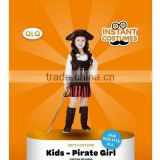 Halloween party cosplay costume children fancy dress costume girl pirate child costume