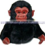 lively gorilla plush fabric animal golf head cover fabric