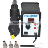 Best 220V 110v 858D+ Rework station SMD hot air welding Station Digital Display Soldering Station