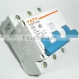 circuit breaker switch mccb DZ47-63 63A Poles 3 MCB quality guaranteed economical shippment