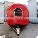 2014 New Style Electric Big Wheels Corn Steamer Panini Snack Food Trailer Cart XR-FC350 D