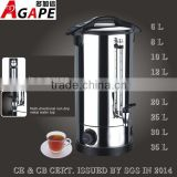 6~35L catering stainless steel water boiler water urn tea urn with metal water tap                                                                         Quality Choice