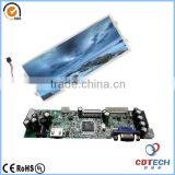HDMI 12.3inch tft lcd display Ad board with high resolution 1920*720