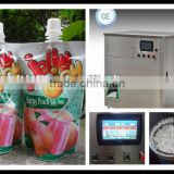 aloe vera drink Doypack or standing up pouch filling packing machine factory