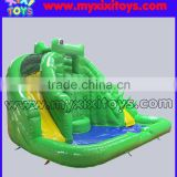 xixi toys commercial inflatable pool wet slide for toddlers