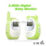 2.4GHz Wireless Digital LCD Color Audio Baby monitor,Temperature Display,mini baby phone