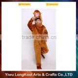 Best selling high quality kids carnival stage performance mascot costume monkey animal costume
