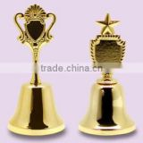 Wholesale metal souvenir dinner bell for sale