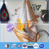 wholesale custom printed 100% cotton decorative tea towels