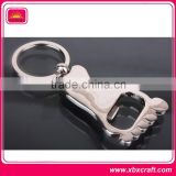 Top quality promotional metal beer opener key chain