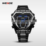 WEIDE brand watches for men japan movt quartz watch stainless steel back WH-1102B-4