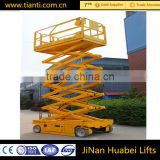 Scissor work platform type electric hydraulic lifter for car lift scissor elevator for sale
