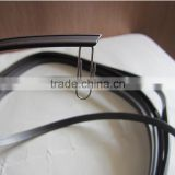 Rubber magnetic seal for shower door in rolls