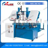 Fully Automatic Horizontal Band Saw ABS 280 NC Including modern PLC control for batch production