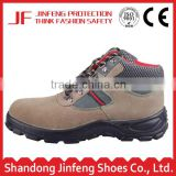 suede leather work shoes steel toe cap oil and acid resistant safety shoes industrial safety boots