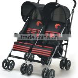 2015 Europe Hot sale Double seat/Twins Pushchair Baby Stroller