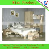 bedroom furniture with bookcase bed and desk furniture sales in supermarket in shanghai 2013