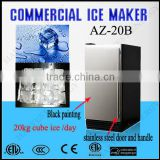 AZ 20B ( 20kg/day) Outdoor Stainless Steel Cube Ice Maker /ice making machine/ice machine