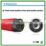 active waterproof bluetooth speaker with power bank , LED Light , FM Radio , T/F card