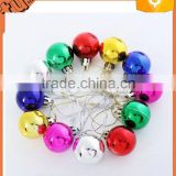 hot sell cheap xmas ball plastic decorate handmade christmas ball / decorative balls for ceilingfor christamas decoration