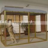 Factory direct Large Dog Cage /dog cage/dog kennel/metal dog playpen/dog run