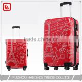 "wholesale 20"" 24"" new design cute luggage pack cube for woman"
