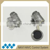 Water bleed valve of floor heating manifold accessories