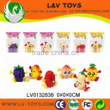 Promotion plastic fruit wind up toys cheap