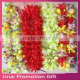 Party/Christmas Supplies Hawaiian Flower Lei Wreath Cheerleading Products Hawaii Necklace